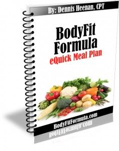 eQuick Meal Plan